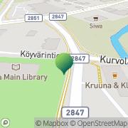 Kartta Akaan kaupunginkirjasto Toijala, Suomi