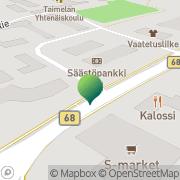 Kartta Alajärven kaupunki Lehtimäen kirjasto Keskikylä, Suomi