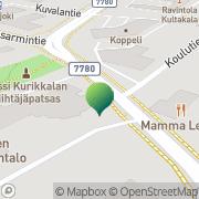 Kartta Kalajoen kaupunki elinkeinopalvelut Kalajoki, Suomi
