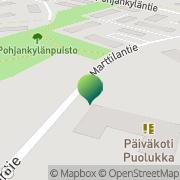 Kartta Kalajoen kaupunki Puolukan päiväkoti Kalajoki, Suomi