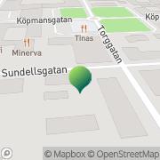 Karta Kärrbäcks Hembygdsförening Haparanda, Sverige