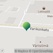 Kartta Tornion kaupunki Tilapalvelut Tornio, Suomi
