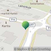 Kartta Soinin kunta kunnankirjasto Soini, Suomi