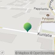 Kartta Pyhäjoen kunta sivistysosasto Pyhäjoki, Suomi