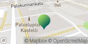 Kartta Oikeusrekisterikeskus Hämeenlinna, Suomi