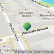 Kartta Kanta-Hämeen syyttäjänvirasto Hämeenlinna, Suomi