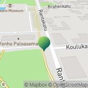Kartta Raahen kaupunki vapaa-ajanpalvelukeskus Raahe, Suomi