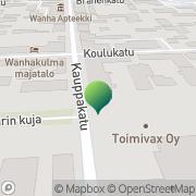 Kartta Kansaneläkelaitos Raahen toimisto Raahe, Suomi