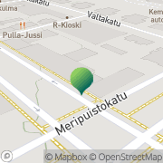 Kartta Kemin kaupunki sosiaali- ja terveyshallinto Kemi, Suomi