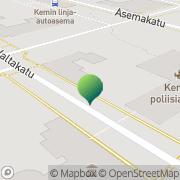 Kartta Kemin kaupunki koulutusvirasto Kemi, Suomi