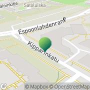 Kartta Kansaneläkelaitos Espoon Espoonlahden toimisto Espoo, Suomi