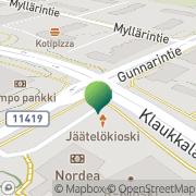 Kartta Nurmijärven kunnankirjasto Klaukkalan kirjasto Klaukkala, Suomi