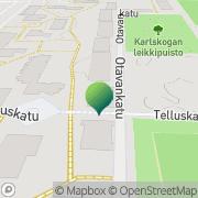 Kartta Riihimäen kaupunki Palveluasunto Kotolaakso Riihimäki, Suomi
