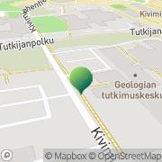 Kartta Raja- ja merivartiokoulu Espoon Koulutuskeskus Espoo, Suomi