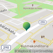 Kartta Hyvinkään kaupunki kulttuuri ja vapaa-aikakeskus Hyvinkää, Suomi