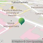 Kartta Helsingin yliopisto terveystieteiden keskuskirjasto Helsinki, Suomi