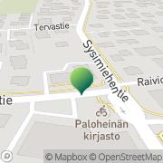 Kartta Helsingin kaupunginkirjasto Paloheinän kirjasto Helsinki, Suomi