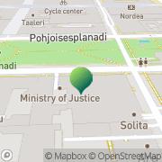 Kartta Tietosuojalautakunta Helsinki, Suomi