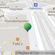 Kartta Kilpailu- ja kuluttajavirasto (KKV) Helsinki, Suomi