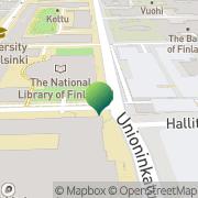 Kartta Helsingin yliopisto American Resource Center Helsinki, Suomi