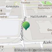 Kartta Valtiovarainministeriön Vero-osasto Helsinki, Suomi