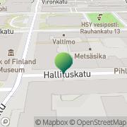 Kartta Jord- och skogsbruksministeriet Helsinki, Suomi