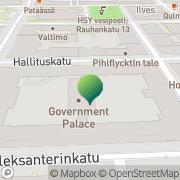 Kartta Valtiovarainministeriö (VM) Helsinki, Suomi