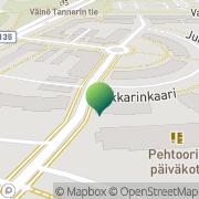 Kartta Vantaan kaupunki Kartanonkosken neuvola Vantaa, Suomi