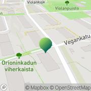 Kartta Tuotantopalvelu Con Fuoco Helsinki, Suomi