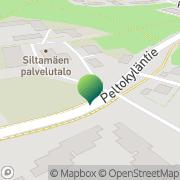 Kartta Helsingin kaupunki Siltamäen palvelukoti Helsinki, Suomi