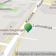 Kartta Vantaan kaupunki tilakeskus Vantaa, Suomi