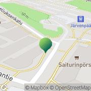 Kartta Kansaneläkelaitos Järvenpään toimisto Järvenpää, Suomi