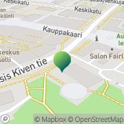 Kartta Keravan kaupunki sosiaali- ja terveysvirasto Kerava, Suomi