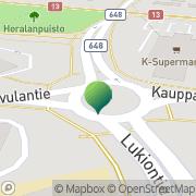 Kartta Saarijärven kaupunki ympäristöosasto Saarijärvi, Suomi