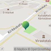 Kartta Haapajärven kaupunki koulutoimisto Haapajärvi, Suomi