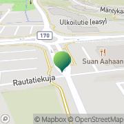 Kartta Sipoon kunta Sibbo kommun Söderkullan kirjasto Söderkulla bibliotek Söderkulla, Suomi