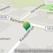 Kartta Kansaneläkelaitos Haukiputaan toimisto Haukipudas, Suomi