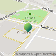 Kartta Haukiputaan kunta sivistyspalvelut Haukipudas, Suomi