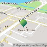 Kartta Oulun kaupunki Aleksinkulma Oulu, Suomi
