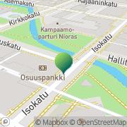 Kartta Oulun kaupunki sosiaali ja terveystoimi sosiaalityö Oulu, Suomi