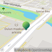 Kartta Oulun maakunta-arkisto Oulu, Suomi