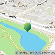 Kartta Oulun kaupunki Keskustan terveysasema Oulu, Suomi