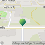 Kartta Oulun kaupunki Kaijonharjun neuvola Oulu, Suomi