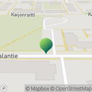 Kartta Oulun kaupunki Kaijonharjun päiväkoti Oulu, Suomi