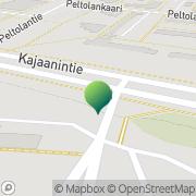 Kartta Oulun kaupunki sosiaali ja terveystoimi terveydenhuolto Oulu, Suomi