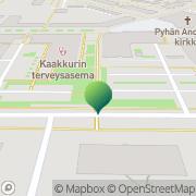 Kartta Oulun kaupunki Kaakkurin neuvola Oulu, Suomi