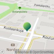 Kartta Asikkalan kunta sosiaali- ja terveystoimi Vehko, Suomi