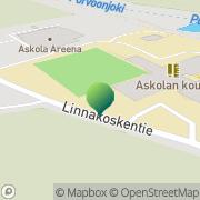 Kartta Askolan kunta sivistystoimi Vakkola, Suomi