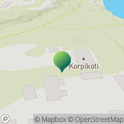 Kartta Korpikoti Lahti, Suomi