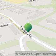 Kartta Lahden kaupunki Sosiaali- ja terveyspalvelut Saarnisopin erityisryhmä Lahti, Suomi
